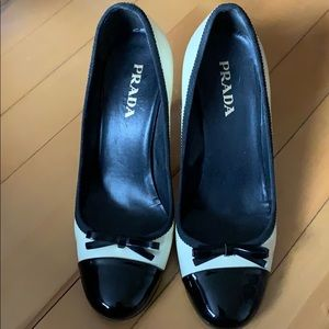 Prada - Super Cute Bow-Tie Heels